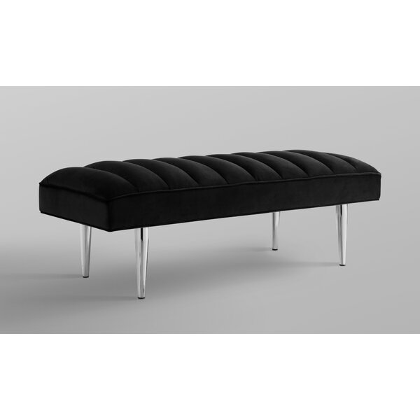 Tadeo Upholstered Bench by Nicole Miller