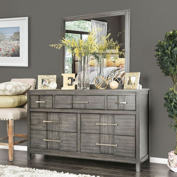 Midwest 7 Drawer Double Dresser by Ivy Bronx