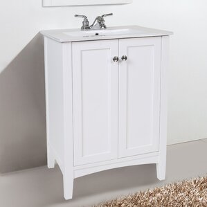 24 in bathroom vanity with sink.  24 Inch Bathroom Vanities You ll Love Wayfair
