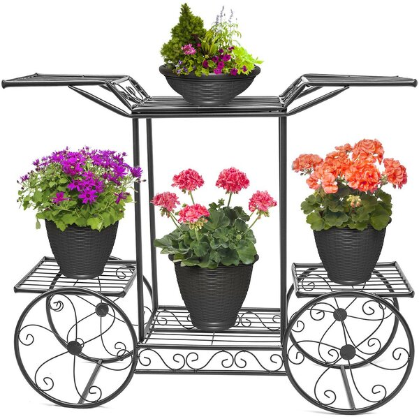 Cart Flower Plant Stand by Sorbus