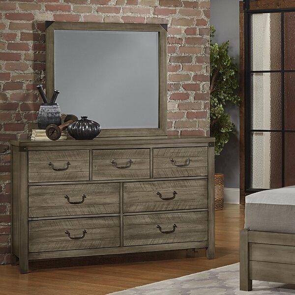 Rakowski 7 Drawer Dresser With Mirror by Loon Peak