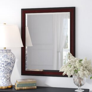 Winston Porter Heger Scoop Framed Beveled Wall Accent Mirror