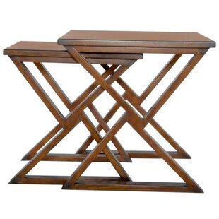 Reviews Play 2 Piece Nesting Tables (Set of 2) BySarreid Ltd