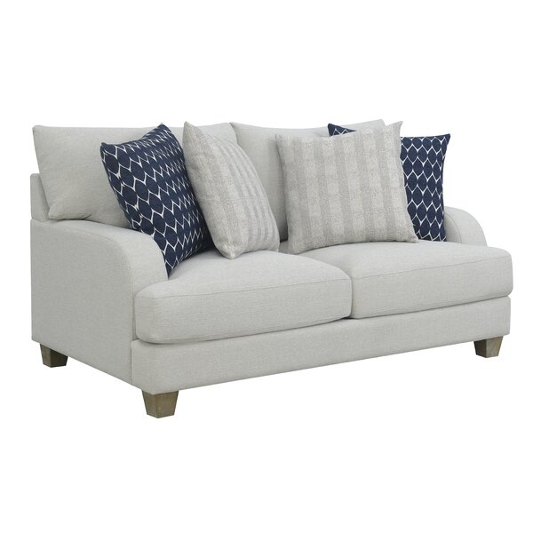 Recommend Saving Schenk Harbor Standard Loveseat by Breakwater Bay by Breakwater Bay