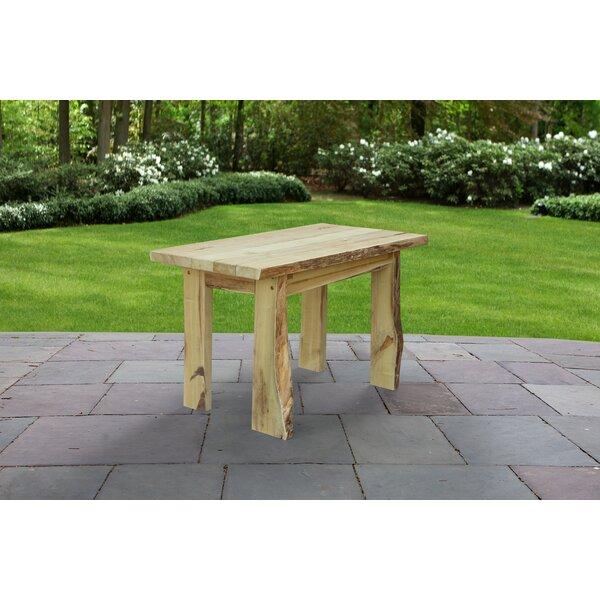Raphael Solid Wood Dining Table by Loon Peak