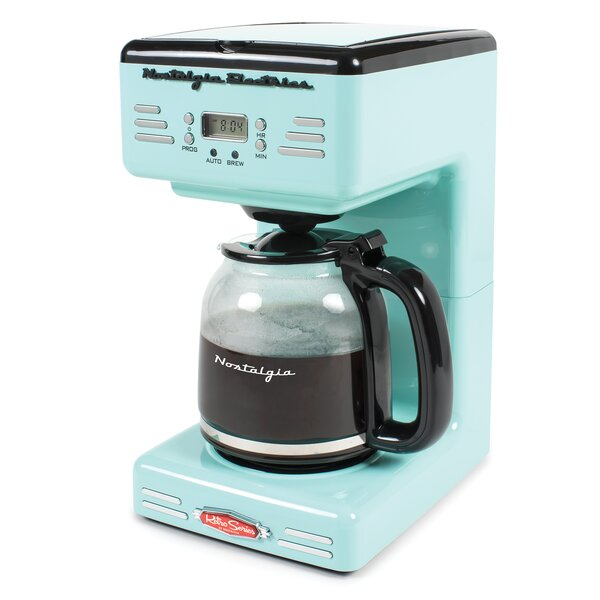 12-Cup Retro Series Coffee Maker by Nostalgia