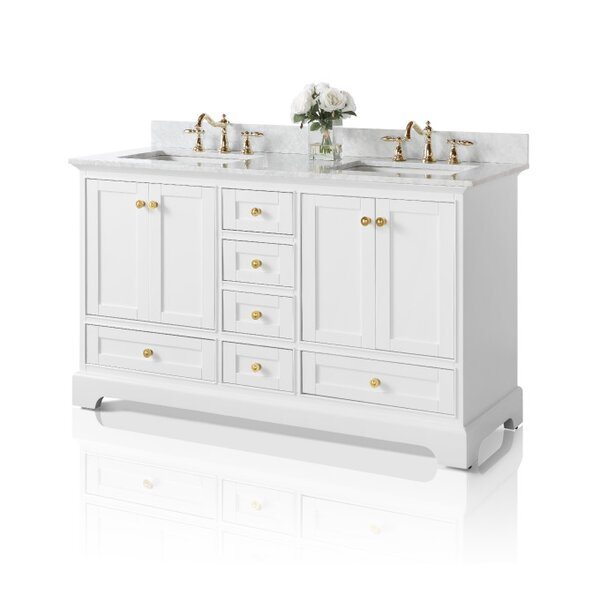 Michael 60 Double Bathroom Vanity Set (Set of 2) by Darby Home Co