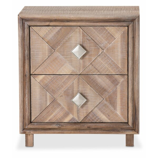 Gehlert 2 Drawer Nightstand by Union Rustic