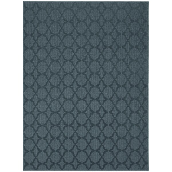 Edith Blue Area Rug by Threadbind