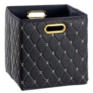 Faux Leather File Box  fe2dac38a444b