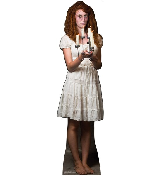 Candle Stick Lady Cardboard Standup by Advanced Graphics