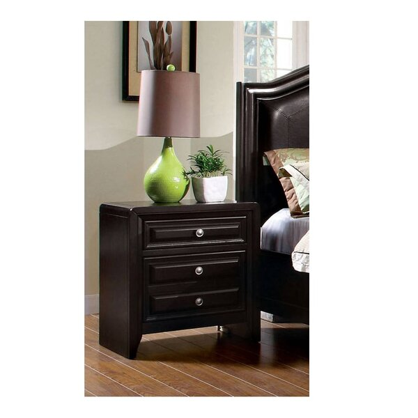 Sondra 3 Drawer Nightstand by Canora Grey