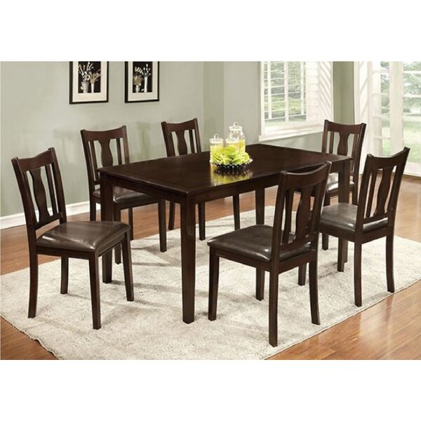 Delancey 7 Piece Extendable Dining Set by Alcott Hill