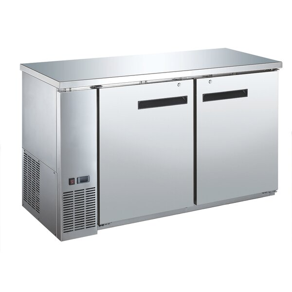 Commercial Underbar 15.8 cu. ft. Energy Star Counter Depth All-Refrigerator by EQ Kitchen Line