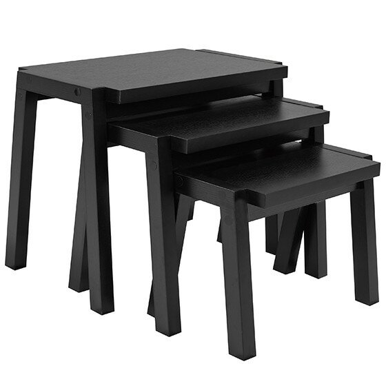 Budd 3 Piece Nesting Tables by Latitude Run