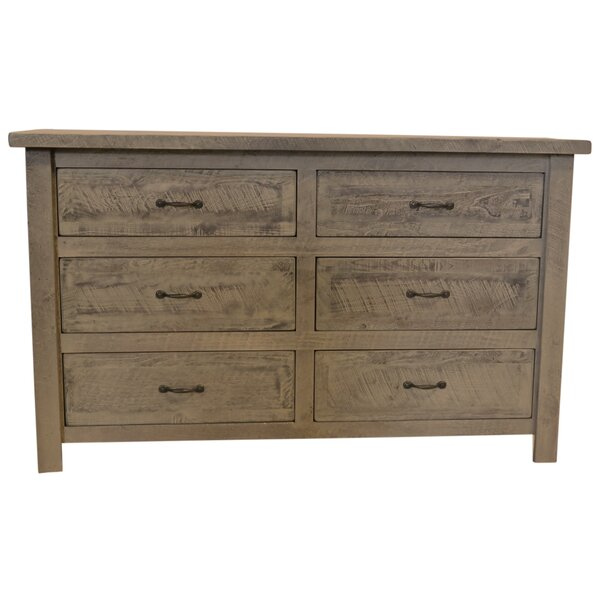 Devereaux 6 Drawer Double Dresser by Union Rustic