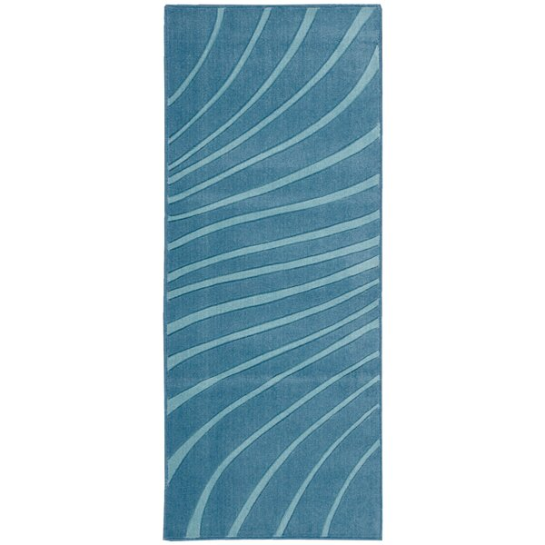 Leonor Dark Blue Area Rug by Highland Dunes