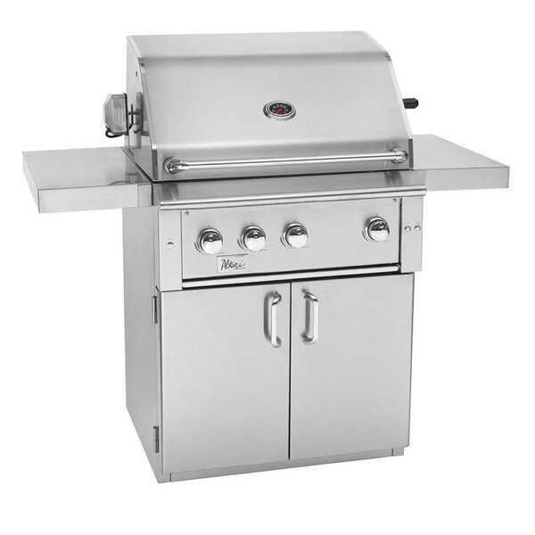 Alturi Propane Gas Grill with Side Shelves by Summerset Professional Grills