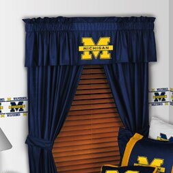NCAA 88 Michigan Wolverines Curtain Valance by Sports Coverage Inc.