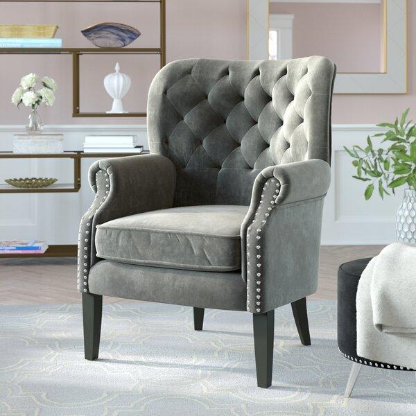 Anamaria Wingback Chair by Mercer41