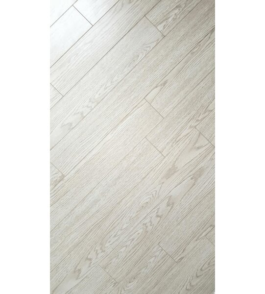 4 x 32 x 8mm Bamboo Laminate Flooring in Modern White by Yulf Design & Flooring