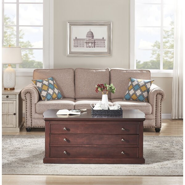 Saldana Lift Top Block Coffee Table With Storage By Canora Grey