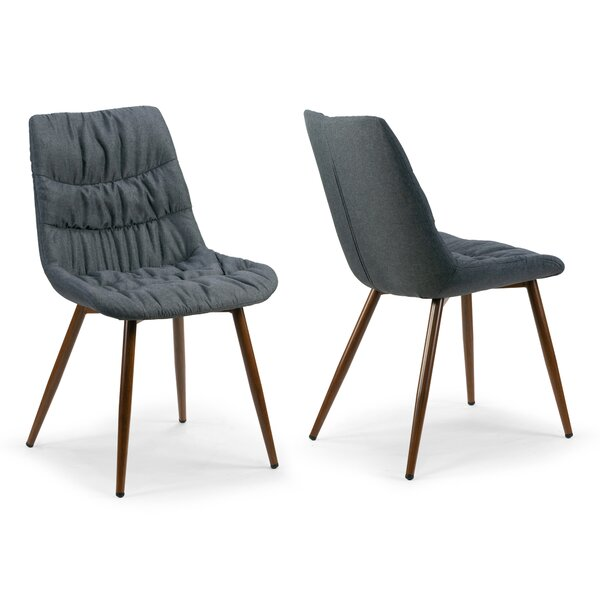 Agustina Upholstered Dining Chair (Set of 2) by Wrought Studio
