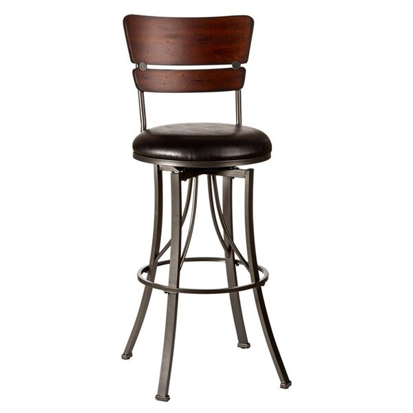Chatham 30 Swivel Bar Stool by Red Barrel Studio