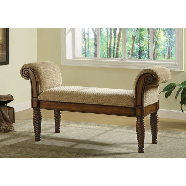 Beery Wood Bench by Fleur De Lis Living