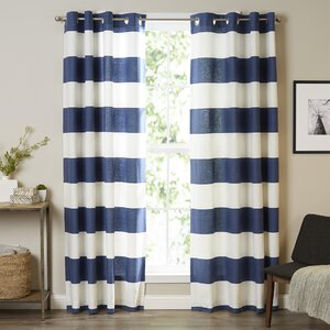 Nautica Cabana Stripe Curtain Panels (Set of 2)