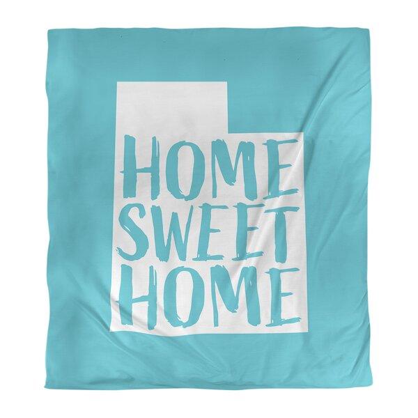Home Sweet Utah Single Reversible Duvet Cover