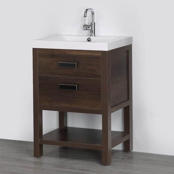 24 Single Bathroom Vanity Set by Streamline Bath