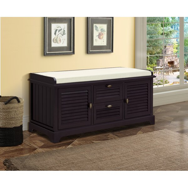 Dvorak Wood Storage Bench by Rosecliff Heights Rosecliff Heights