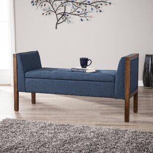 Kegler Storage Upholstered Bench by Charlton Home