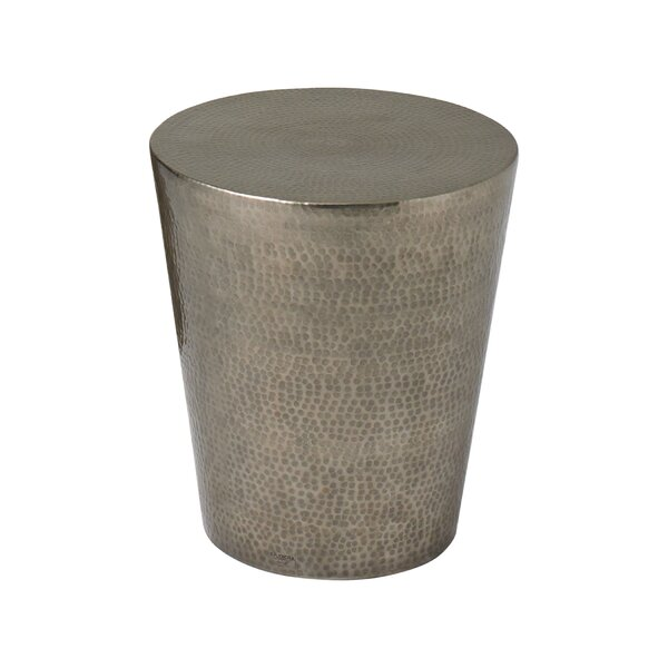 Izmir Hammered End Table by Studio A Home