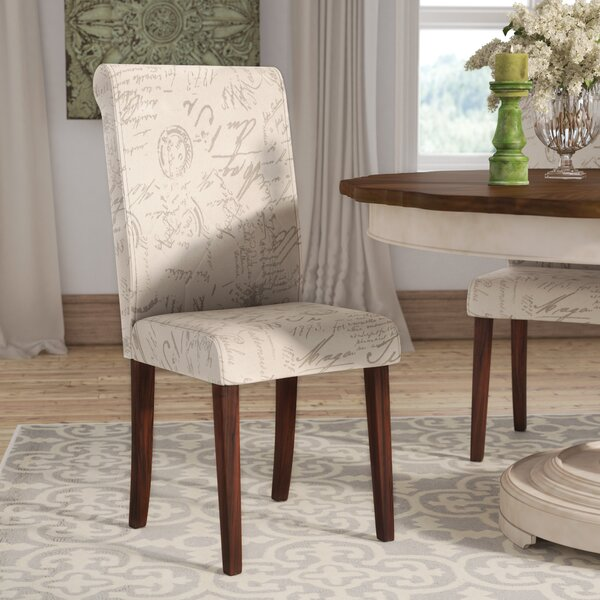 Bargain LaSalle Upholstered Dining Chair (Set Of 2) By Lark Manor Spacial Price