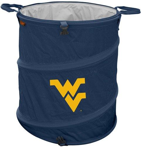 Collegiate Trash Can - West Virginia by Logo Brands