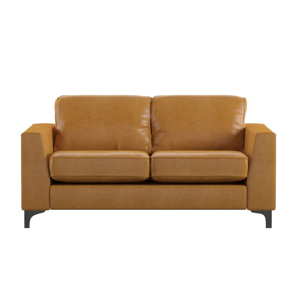 Shupe 2 Piece Leather Living Room Set by Mercury Row