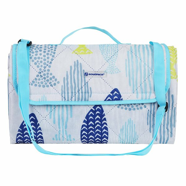 Fish Outdoor Beach Picnic Blanket by Songmics