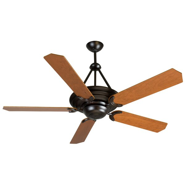52 ForestHills 5-Blade Traditional Ceiling Fan by Red Barrel Studio
