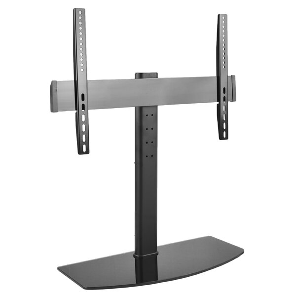 Universal Flat Screen TV Table Top Stand Glass Base Desktop Mount for 32-55 LCD by Vivo