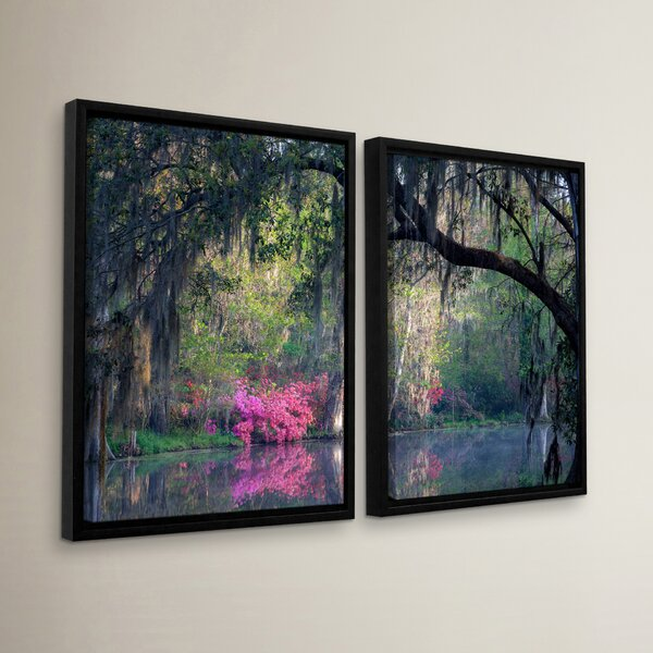 Morning Serenity 2 Piece Photographic Print on Wrapped Canvas Set by Latitude Run