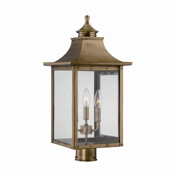 Dillion Outdoor 3-Light Lantern Head Set by 17 Stories