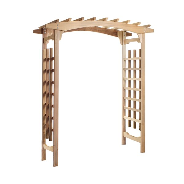 Pagoda Wood Arbor by All Things Cedar