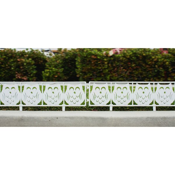 Owl Garden Fence Panel by Imperial Home