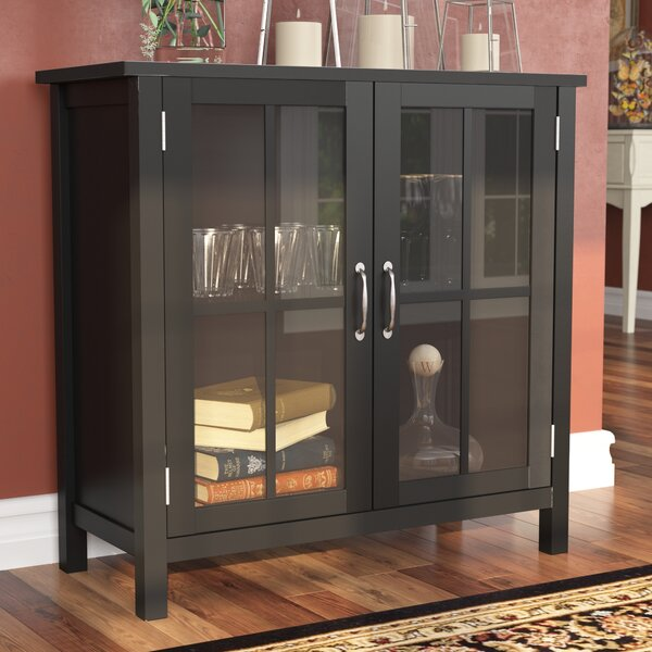 Digby Wood 2 Door Accent Cabinet by Alcott Hill
