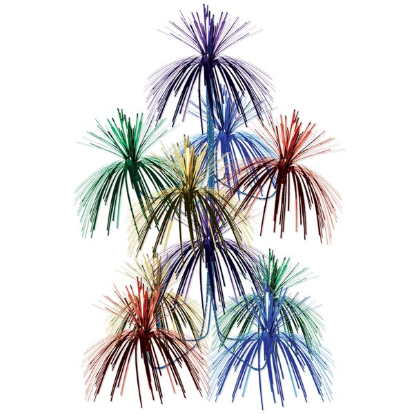 New Years Firework Hanging Decor by The Holiday Aisle