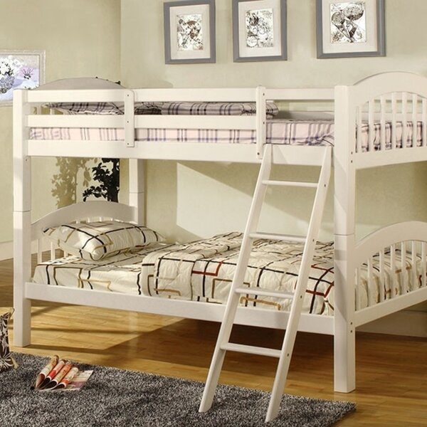 Hendon Picket Fence Twin Bunk Bed By Harriet Bee Great Reviews