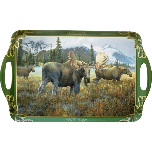 Melamine Moose Serving Tray by MotorHead Products