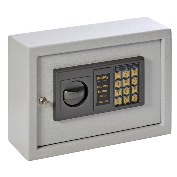 Small Electronic Lock Drawer Safe by Buddy Products